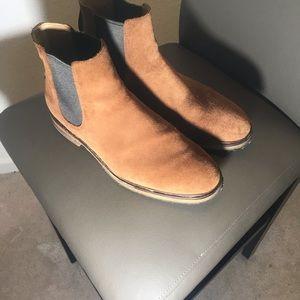Clark suede boots